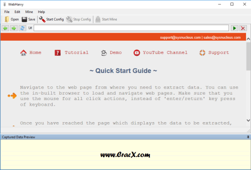 WebHarvy Web Scraper 4.0.3.129 Crack, Serial Key Download
