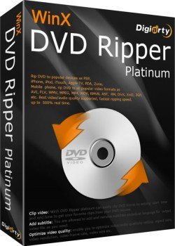 WinX DVD Ripper Platinum 8.0 Crack & License Key Download