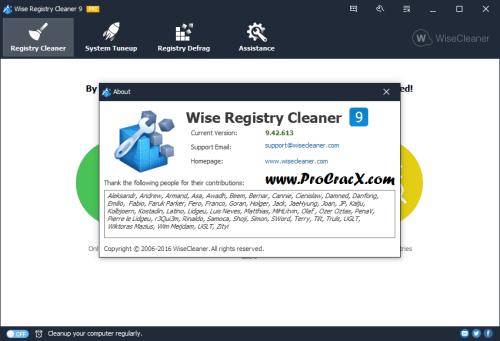 Wise Registry Cleaner Pro 9.42.613 License Key Final Download