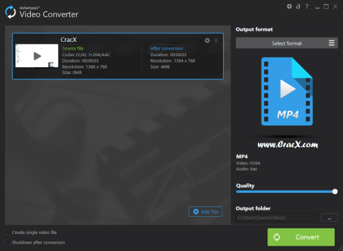 Ashampoo Video Converter 1.0.0.44 Keygen & Patch Download
