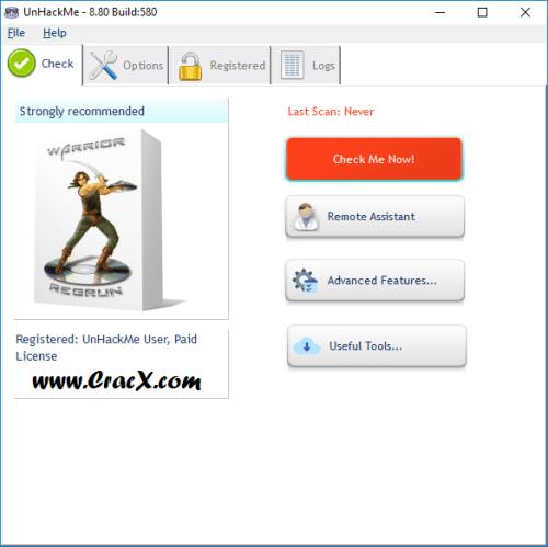 UnHackMe 8.80 Build 580 License Key + Patch Download