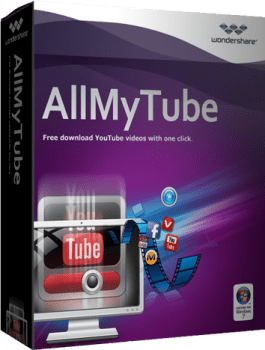 Wondershare AllMyTube 4.10.2.3 Crack & License Key Download