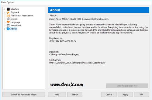 Zoom Player Max 13.0 Keygen & Crack Free Download