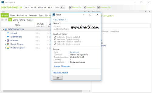 NetLimiter 4.0.30.0 Activator Crack & Patch Download