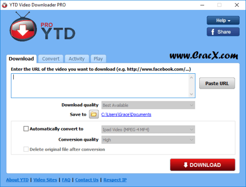 YTD Video Downloader Pro 5.8.3 Keygen & Crack Download