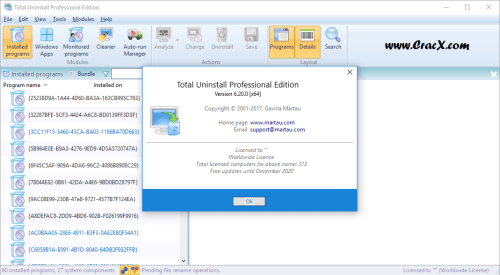 Total Uninstall Professional 6.20.0.470 Keygen Free Download