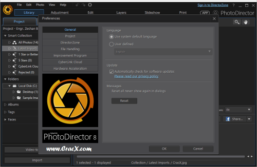 CyberLink PhotoDirector Ultra 8.0.3019.0 + Keygen Download