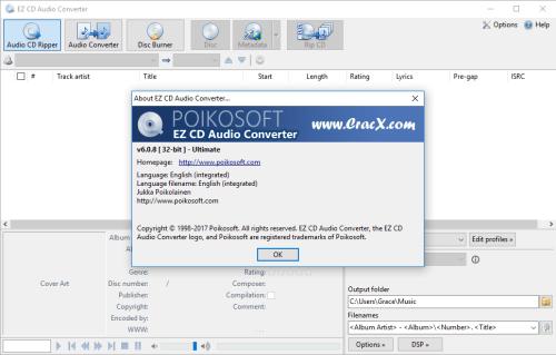 EZ CD Audio Converter Ultimate 6.0.8.1 Serial Key Download