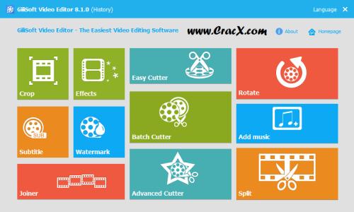 GiliSoft Video Editor 8.1.0 Crack & Serial Key Download