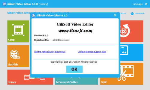 GiliSoft Video Editor 8.1.0 Keygen & Activator Download