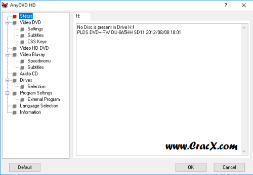 RedFox AnyDVD HD 8.1.6.1 License Key & Crack Download