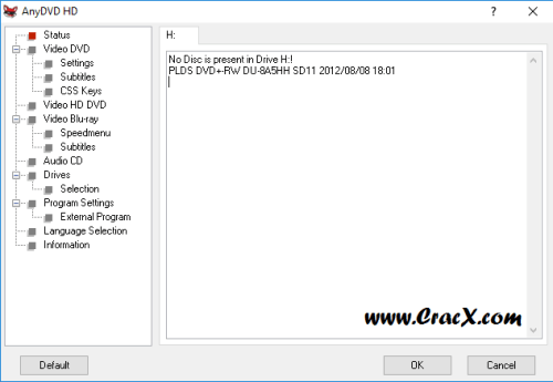 RedFox AnyDVD HD 8.1.7.0 License Key + Crack Download