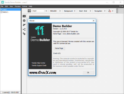 Tanida Demo Builder 11.0.24.0 Keygen + Activator Download