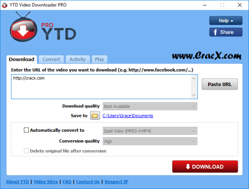 YTD Video Downloader Pro 5.8.5 License Key & Crack Download
