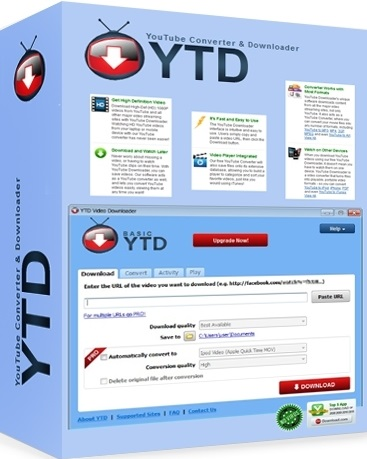 YTD Video Downloader Pro 5.8.5 Patch + License Key Download