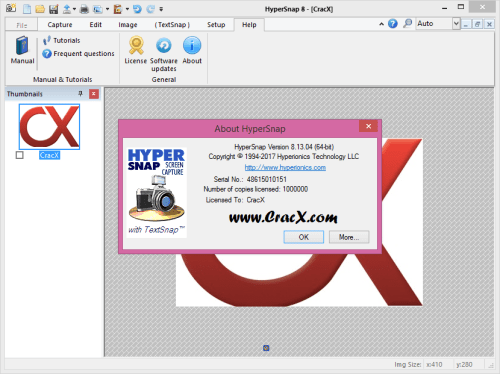 HyperSnap 8.13.04 Serial Key & Crack Patch Final Download