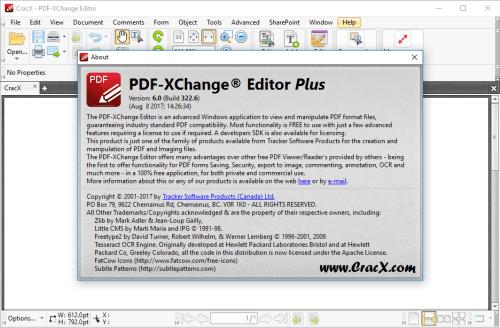 PDF-XChange Editor Plus 6.0.322.6 License Key Final Download