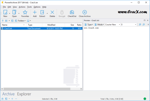 PowerArchiver 2017 v17.00.90 Serial Key + Patch Download
