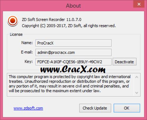 ZD Soft Screen Recorder 11.0.7 Keygen + Activator Download