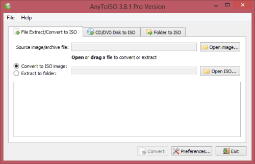 AnyToISO Pro 3.8.1 Build 562 Serial Key + Patch Download