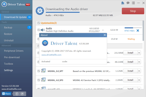 Driver Talent Pro 6.5.56.164 Keygen & Activator Download
