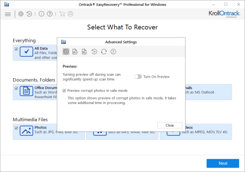 Ontrack EasyRecovery Professional 12.0.0.2 + Keygen Download