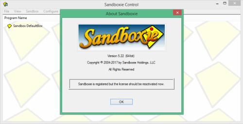 Sandboxie 5.22 Crack Keygen & Activator Download