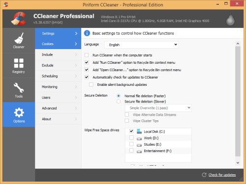 ccleaner free download with serial key