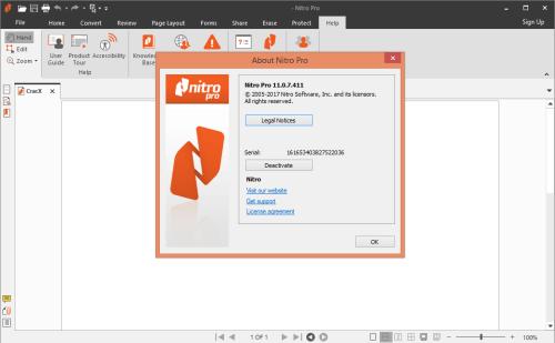 Nitro Pro 11.0.7.411 Full Keygen & Activator Free Download