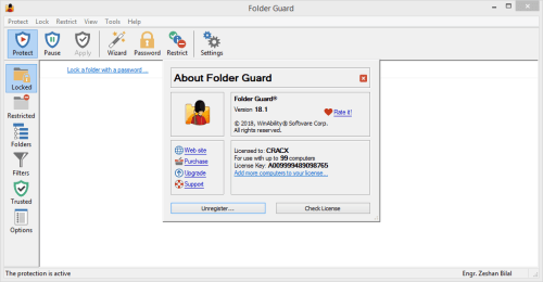 Folder Security Personal 41 Serial Key