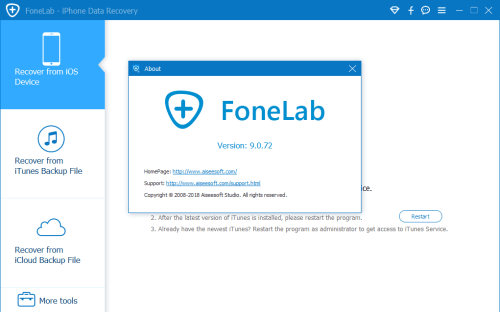 Aiseesoft FoneLab 9.0.72 Full Keygen & Activator Download