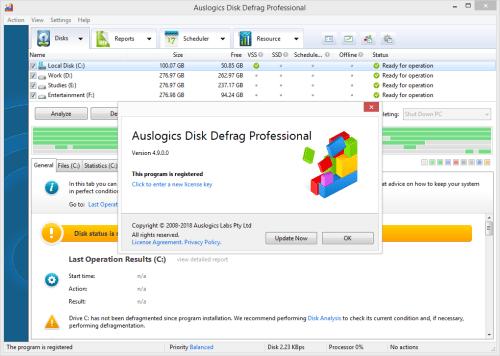 Auslogics Disk Defrag Professional 4.9.0 Keygen & Activator Download