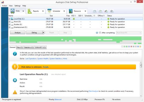Auslogics Disk Defrag Professional 4.9.0 Serial Key & Patch Download