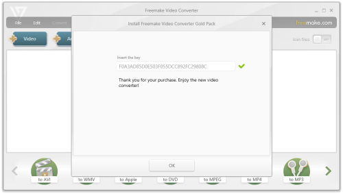 Freemake Video Converter Gold 4.1.10.52 Patch Full Download