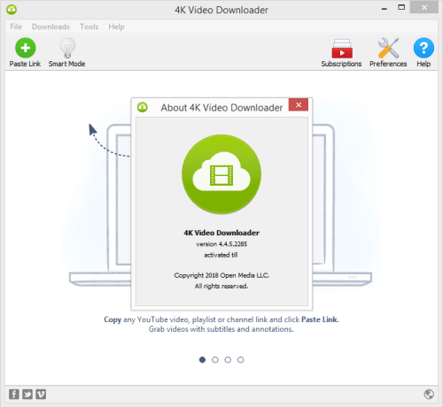 4K Video Downloader 4.4.5.2285 Keygen & Activator Download