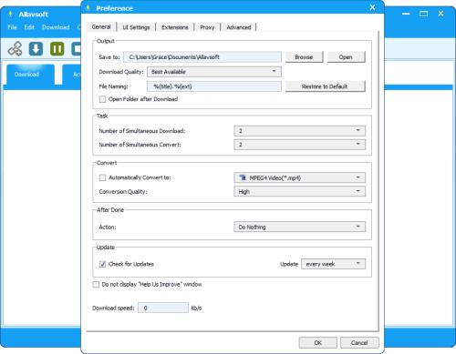 Allavsoft Video Downloader Converter 3.15.5.6634 Serial Key Download