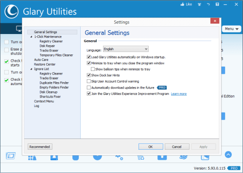 Glary Utilities PRO 5.93.0.115 Patch + Serial Key Download