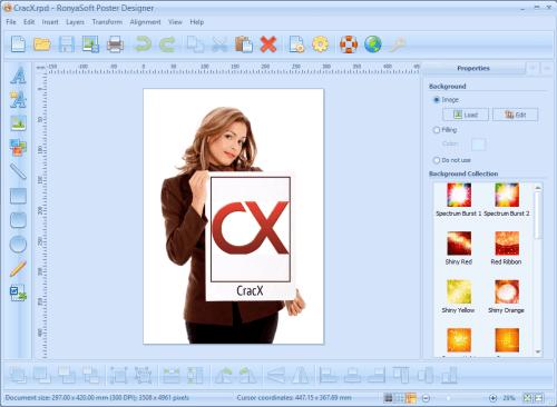 RonyaSoft Poster Designer 2.3.17 Serial Key + Patch Download