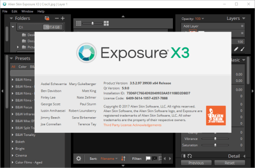 Alien Skin Exposure X3 Bundle 3.5.2.91 Keygen & Activator Download