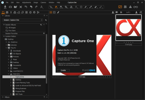 Capture One Pro 11.1.0.140 Full Keygen & Activator Download