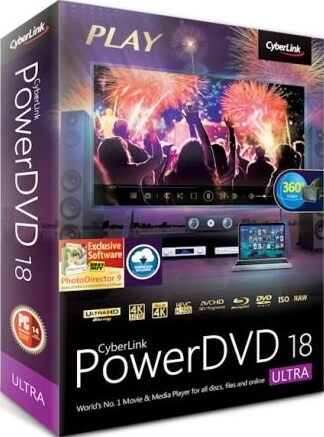 CyberLink PowerDVD Ultra 18.0.1529.62 + Crack {2018} Download