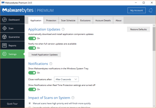 Malwarebytes Premium 3.4.5.2467 Patch & Serial Key Download