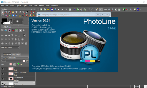 PhotoLine 20.54 Full Keygen & Activator Download