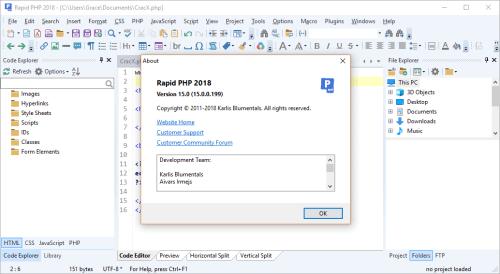 Rapid PHP 2018 15.0.0.199 Keygen & Activator Download