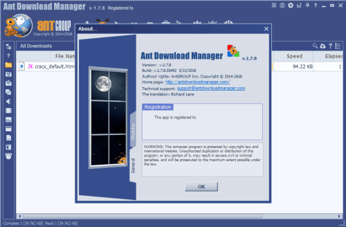 Ant Download Manager Pro 1.7.8 Keygen & Activator Download