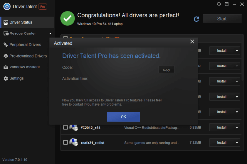 Driver Talent Pro 7.0.1.10 Keygen with Activator Download