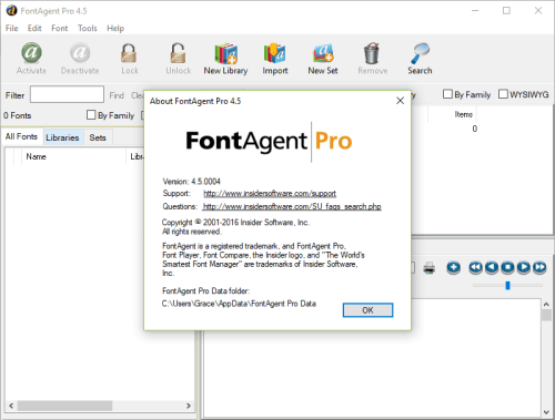 FontAgent Pro 4.5.004 Full Keygen & Activator Download