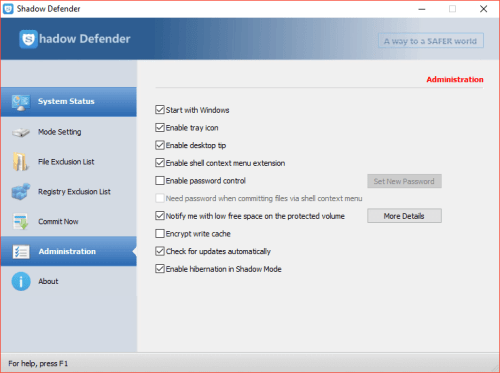 Shadow Defender 1.4.0.680 Serial Key & Crack Download