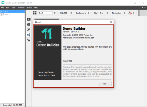 Tanida Demo Builder 11.0.30.0 Keygen & Activator Download