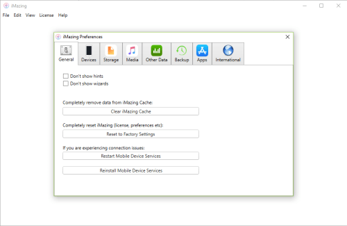 activation number imazing 2.5.4